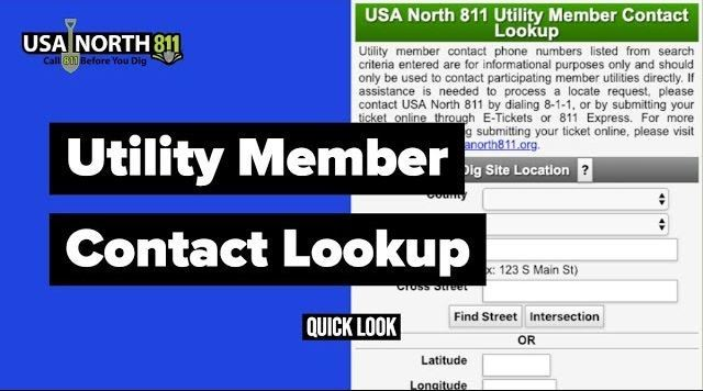 USA North 811 | Call 811 Before You Dig